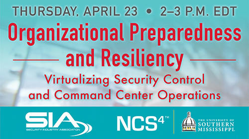 Organizational Preparedness and Resiliency: The Benefits of Virtualized   Command Center Operations